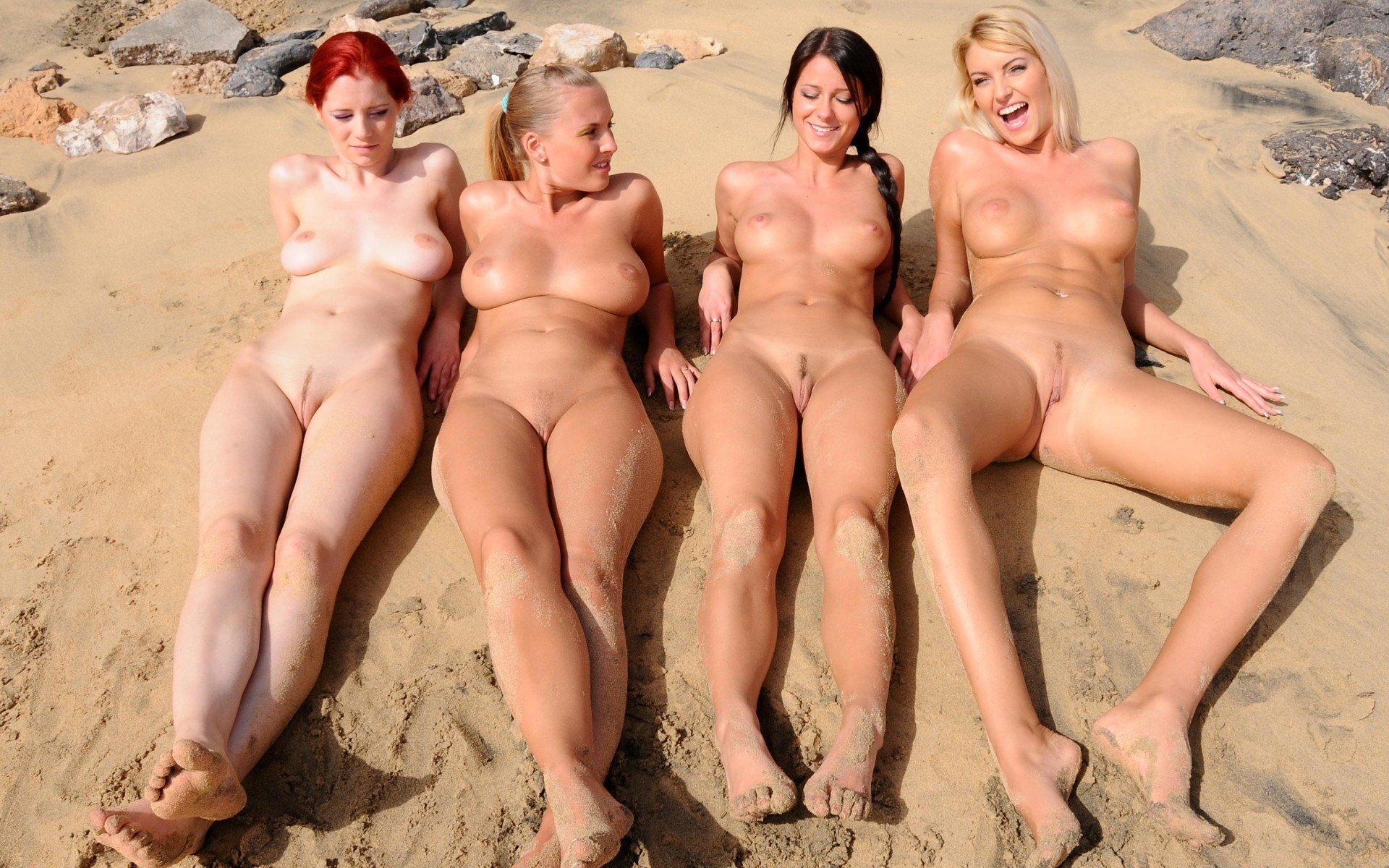 groups of women showing their butts